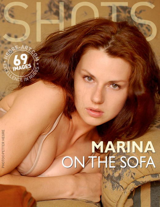 Marina - `On The Sofa` - by Petter Hegre for HEGRE-ART