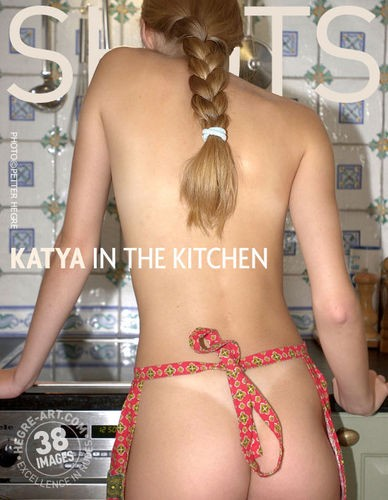 Katya - `In The Kitchen` - by Petter Hegre for HEGRE-ART
