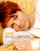 On Yellow Sofa