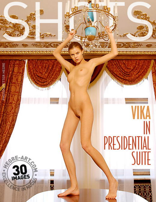 Vika - `In Presidential Suite` - by Petter Hegre for HEGRE-ART