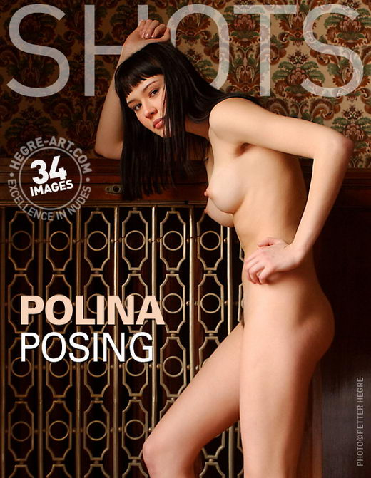 Polina - `Posing` - by Petter Hegre for HEGRE-ART