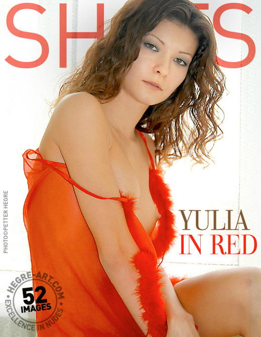 Yulia - `In Red` - by Petter Hegre for HEGRE-ART