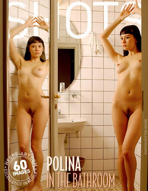 Polina - `In the Bathroom` - by Petter Hegre for HEGRE-ART