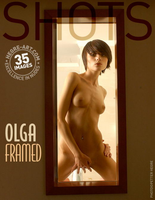 Olga - `Framed` - by Petter Hegre for HEGRE-ART
