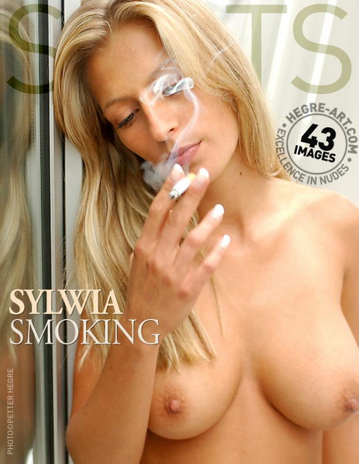 Sylwia - `Smoking` - by Petter Hegre for HEGRE-ART