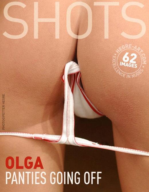 Olga - `Panties Going Off` - by Petter Hegre for HEGRE-ART
