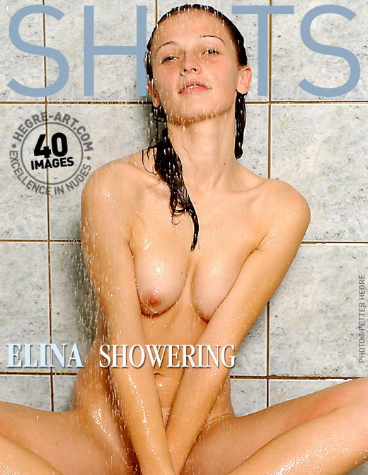 Elina - `Showering` - by Petter Hegre for HEGRE-ART