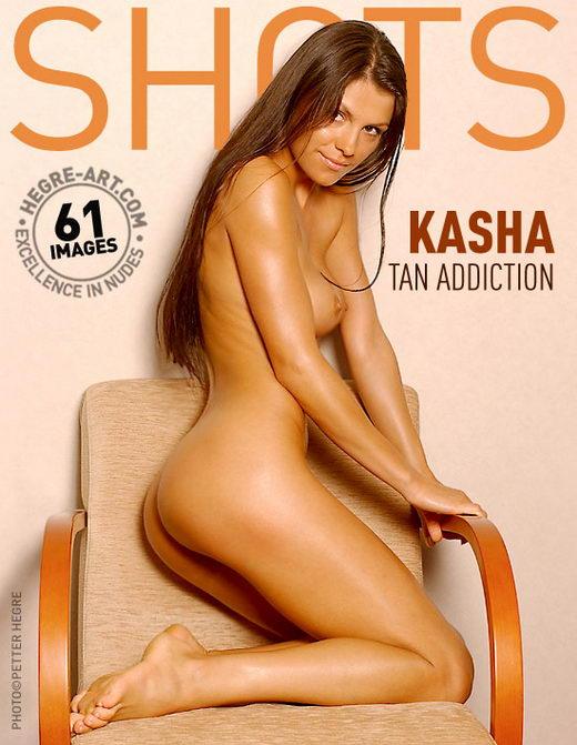 Kasha - `Tan Addiction` - by Petter Hegre for HEGRE-ART