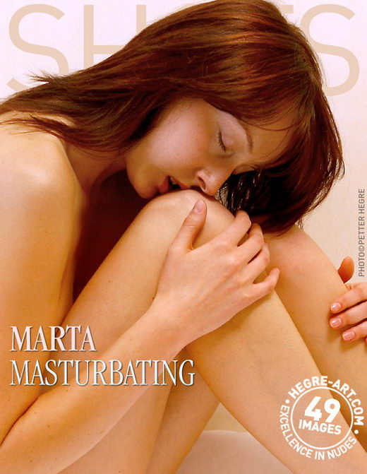 Marta - `Masturbating` - by Petter Hegre for HEGRE-ART