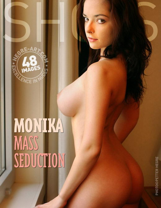 Monika - `Mass Seduction` - by Petter Hegre for HEGRE-ART