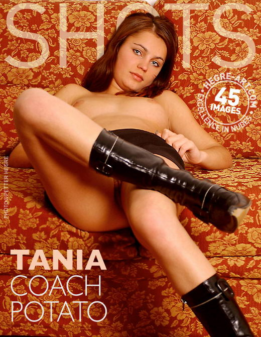 Tania - `Couch Potato` - by Petter Hegre for HEGRE-ART