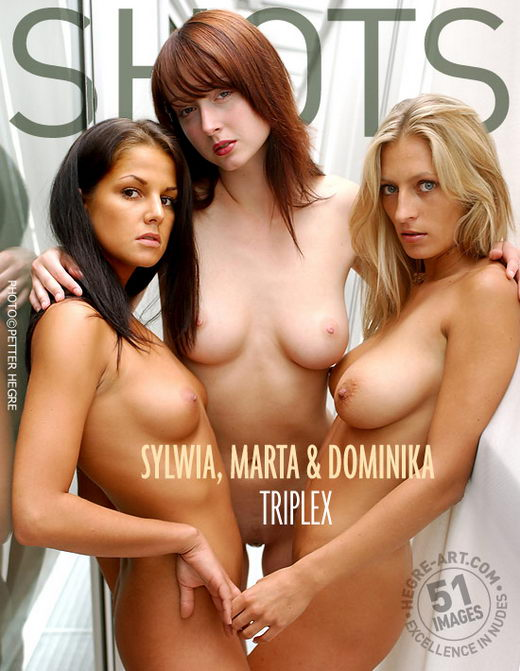 Sylwia & Marta & Domenika - `Triple X` - by Petter Hegre for HEGRE-ART