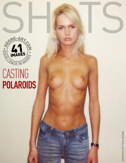 `Casting Polaroids` - by Petter Hegre for HEGRE-ART