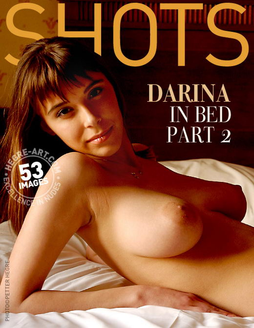 Darina - `In Bed - Part 2` - by Petter Hegre for HEGRE-ART