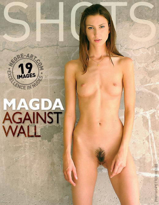 Magda - `Against Wall` - by Petter Hegre for HEGRE-ART