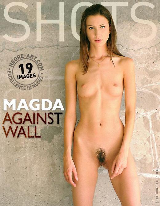Magda - `Against Wall` - by Petter Hegre for HEGRE-ART