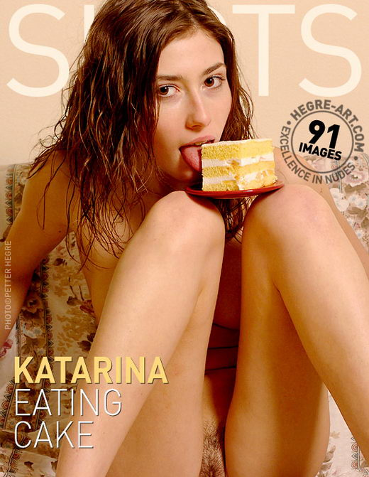 Katarina - `Eating Cake` - by Petter Hegre for HEGRE-ART