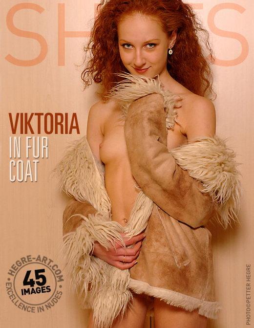 Viktoria - `In Fur Coat` - by Petter Hegre for HEGRE-ART