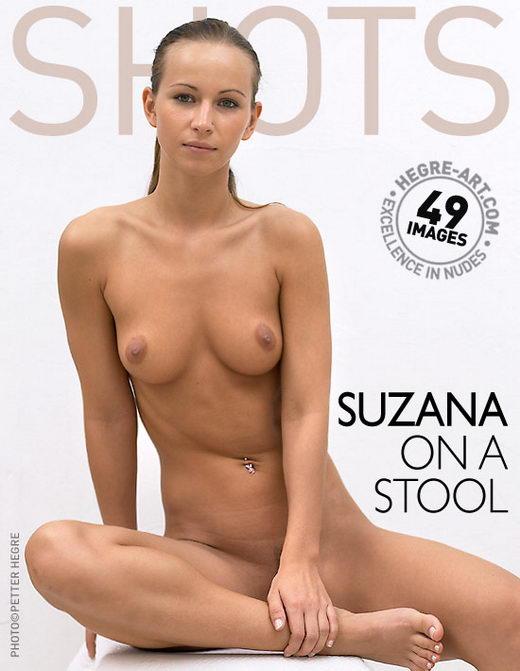 Suzana - `On A Stool` - by Petter Hegre for HEGRE-ART