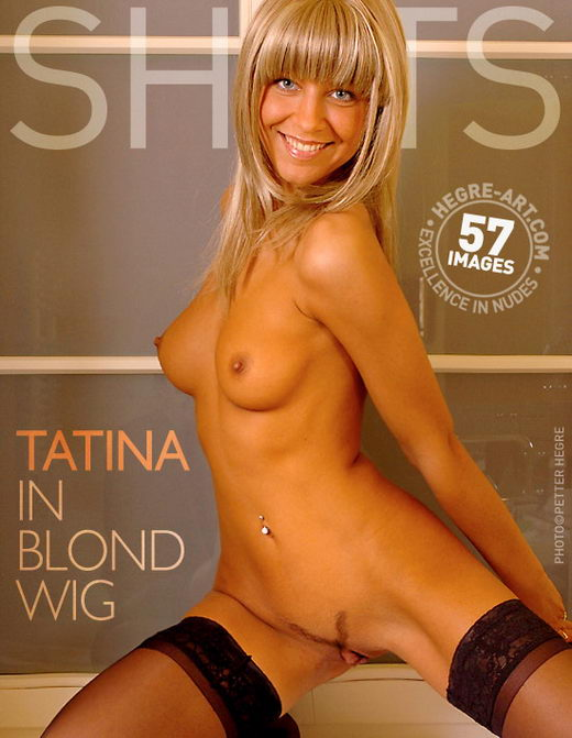 Tatina - `In Blond Wig` - by Petter Hegre for HEGRE-ART