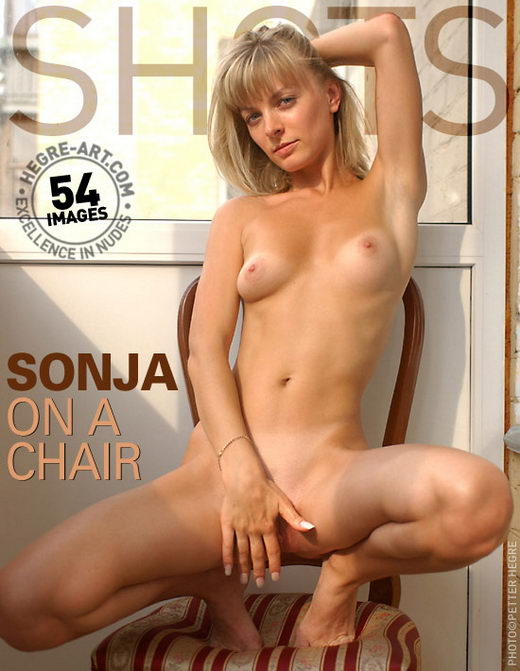 Sonja - `On A Chair` - by Petter Hegre for HEGRE-ART