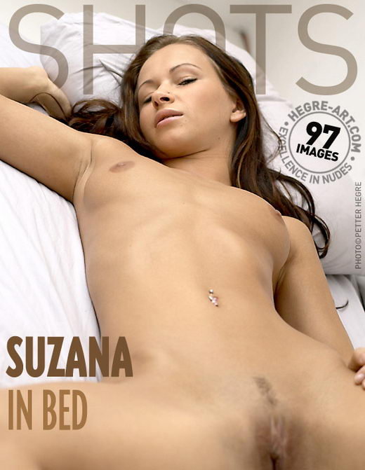 Suzana - `In Bed` - by Petter Hegre for HEGRE-ART