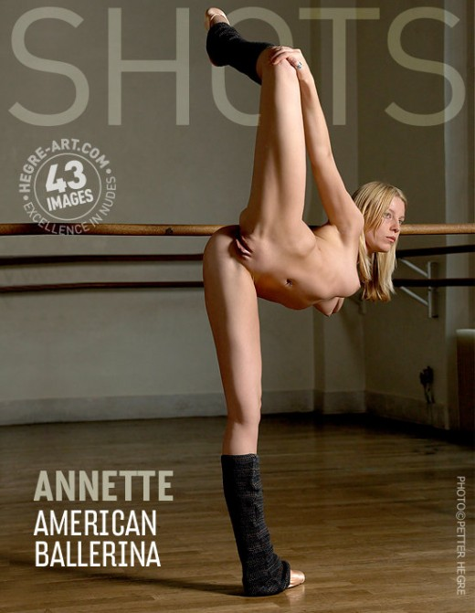 Annette - `American Ballerina` - by Petter Hegre for HEGRE-ART