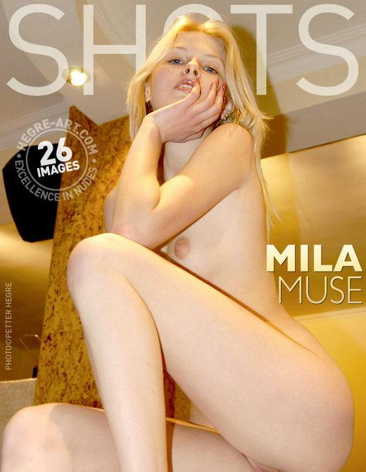 Mila - `Muse` - by Petter Hegre for HEGRE-ART