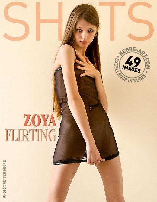 Zoya - `Flirting` - by Petter Hegre for HEGRE-ART