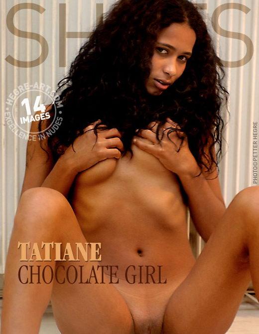 Tatiane - `Chocolate Girl` - by Petter Hegre for HEGRE-ART