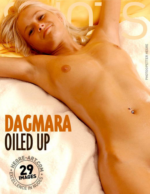 Dagmara - `Oiled Up` - by Petter Hegre for HEGRE-ART