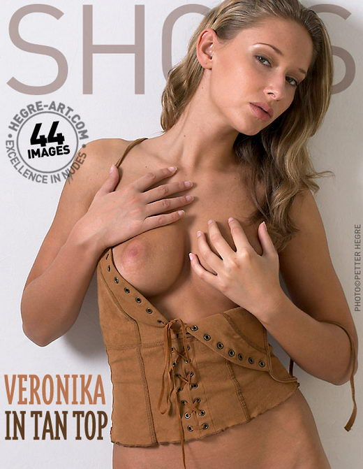 Veronika - `In Tan Top` - by Petter Hegre for HEGRE-ART