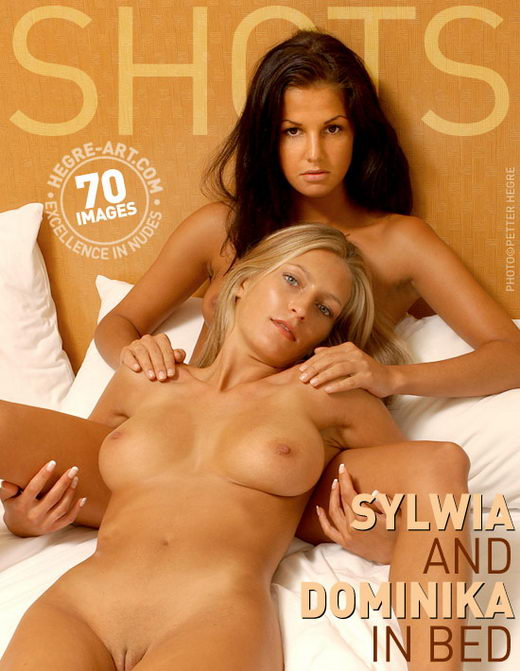 Sylwia & Dominika - `In Bed` - by Petter Hegre for HEGRE-ART