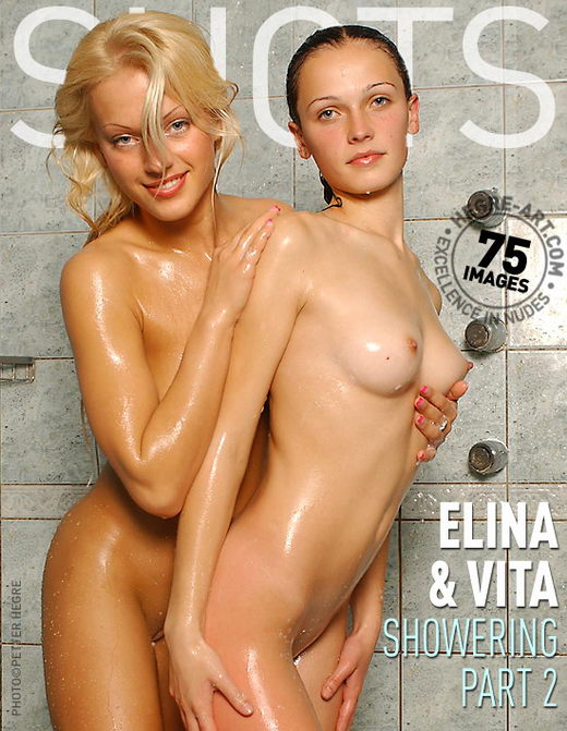 Elina & Vita - `Showering - Part 2` - by Petter Hegre for HEGRE-ART
