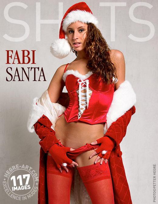 Fabi - `Santa` - by Petter Hegre for HEGRE-ART