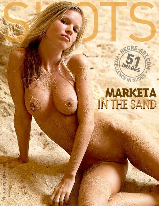 Marketa - `In The Sand` - by Petter Hegre for HEGRE-ART