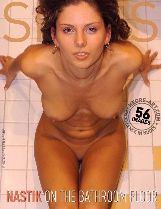 Nastik - `On Bathroom Floor` - by Petter Hegre for HEGRE-ART
