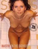 On Bathroom Floor