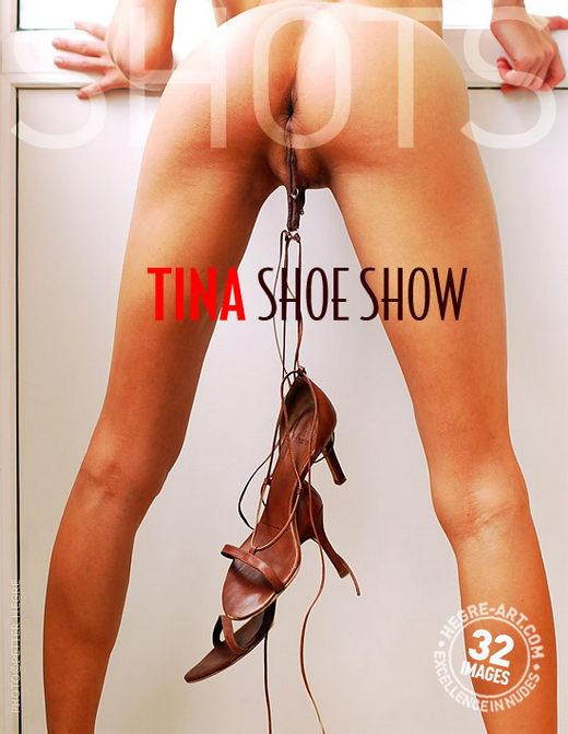 Tina - `Shoe Show` - by Petter Hegre for HEGRE-ART