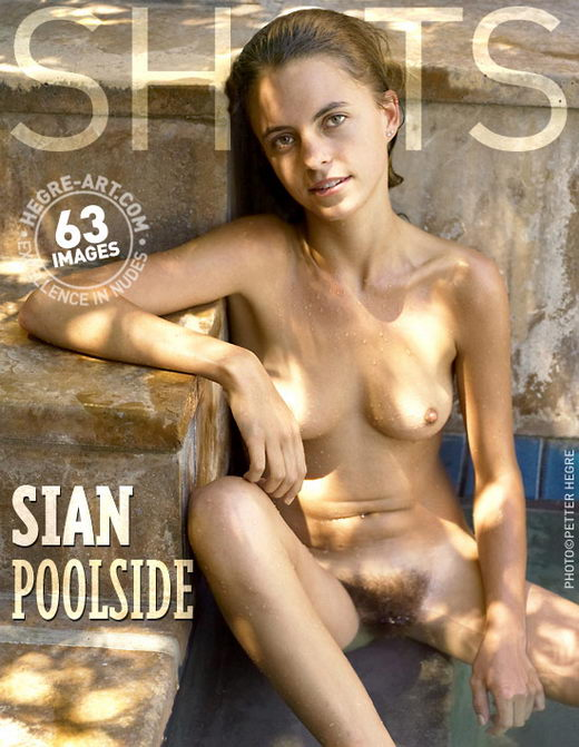 Sian - `Pool Side` - by Petter Hegre for HEGRE-ART