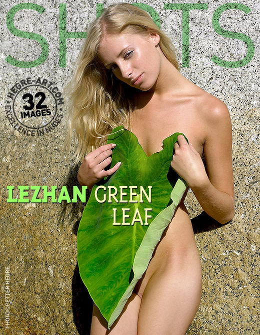 Lezhan - `Green Leaf` - by Petter Hegre for HEGRE-ART