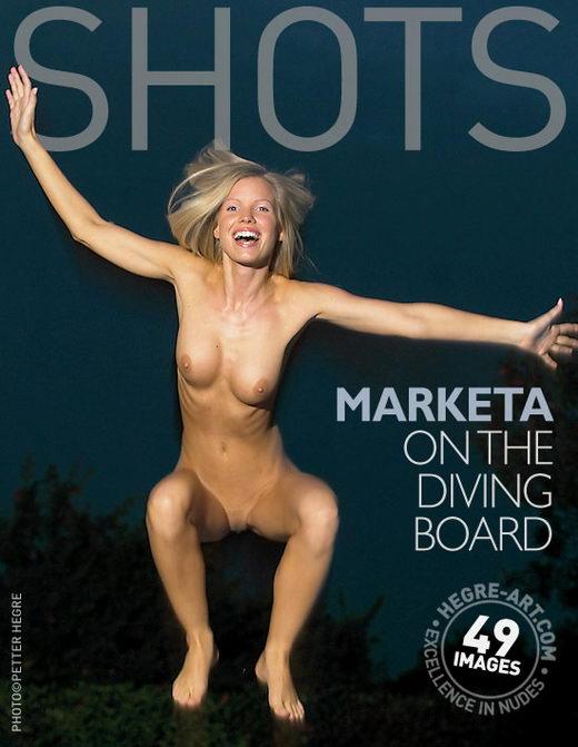 Marketa - `On The Diving Board` - by Petter Hegre for HEGRE-ART