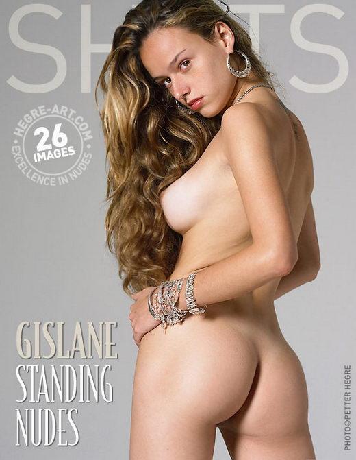 Gislane - `Standing Nudes` - by Petter Hegre for HEGRE-ART