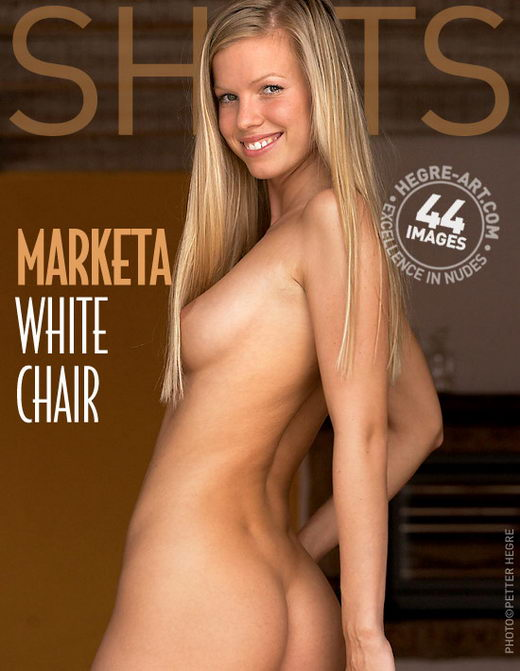 Marketa - `White Chair` - by Petter Hegre for HEGRE-ART