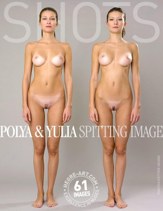 Polya & Yulia - `Splitting Image` - by Petter Hegre for HEGRE-ART