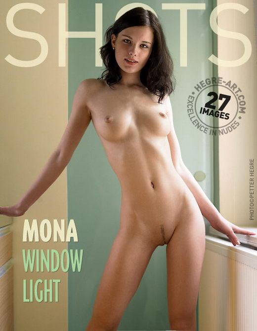 Mona - `Window Light` - by Petter Hegre for HEGRE-ART