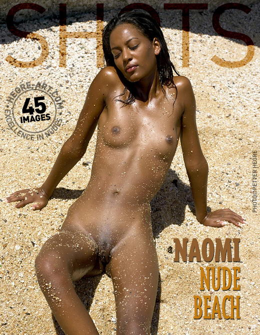 Naomi - `Nude Beach` - by Petter Hegre for HEGRE-ART