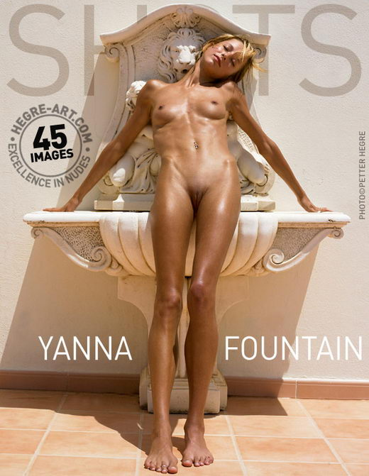 Yanna - `Fountain` - by Petter Hegre for HEGRE-ART