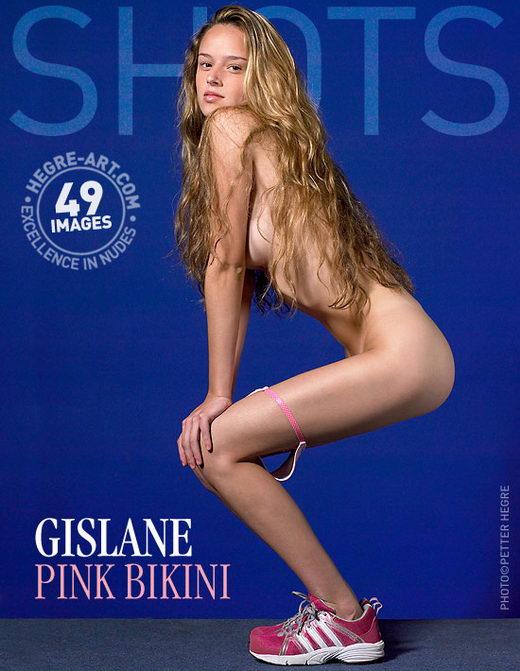 Gislane - `Pink Bikini` - by Petter Hegre for HEGRE-ART