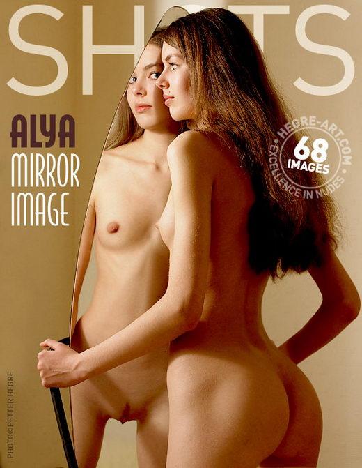 Alya - `Mirror Image` - by Petter Hegre for HEGRE-ART